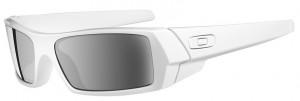 Lindo e moderno, o modelo Gascan da Oakley na cor branco gelo