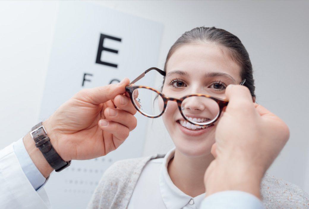 óculos de grau origem