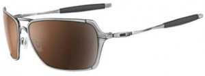 Óculos Oakley Inmate Polished Chrome, Cor das Lentes: VR28 Black Iridium