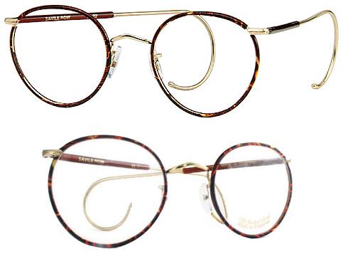 Óculos Berkshire Chase Savile Row Panto Beaufort usado no filme A Nona Porta