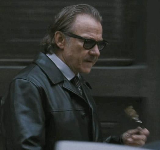 Harvey Keitel veste óculos Ray Ban 2140 no filme Os Ministros