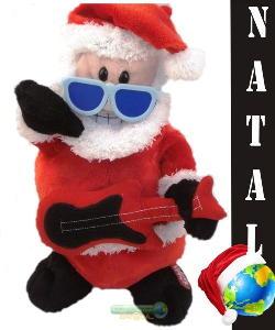 Papai Noel de óculos