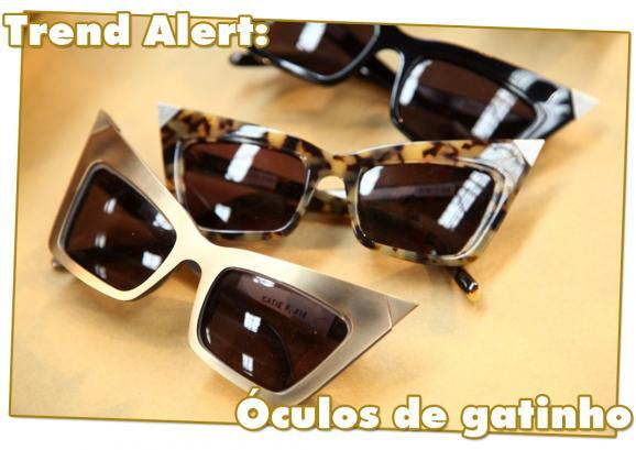 Trend Alert: Óculos de gatinho