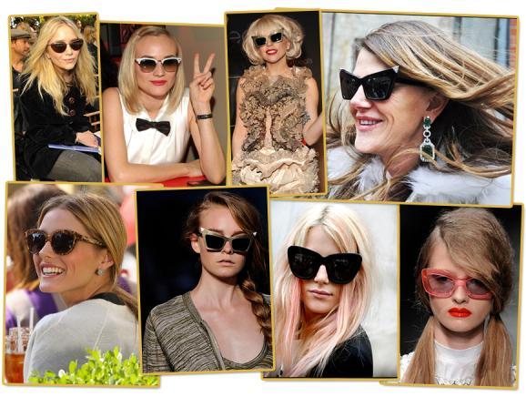 Óculos de Gatinho está na Moda