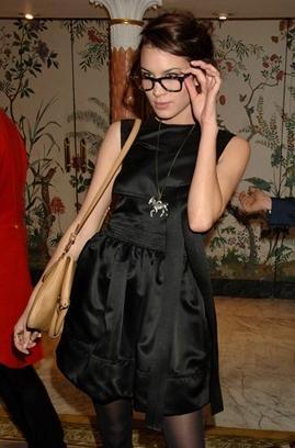 Óculos de grau de Alexa Chung