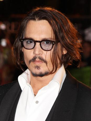 Óculos de Johnny Depp