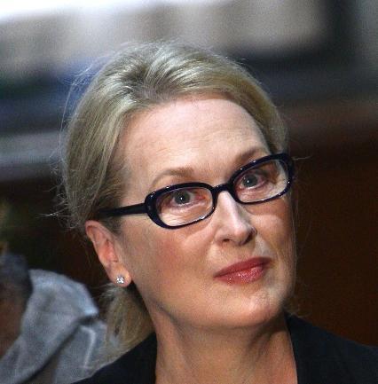 Óculos de Meryl Streep