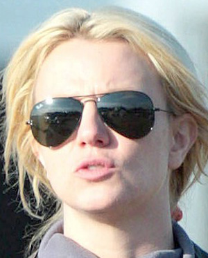 Britney Spears Óculos Ray Ban RB3025