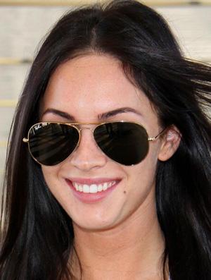 Megan Fox Óculos Ray Ban RB3025