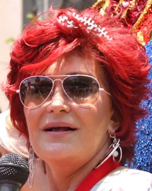 Sharon Osbourne Óculos Ray Ban