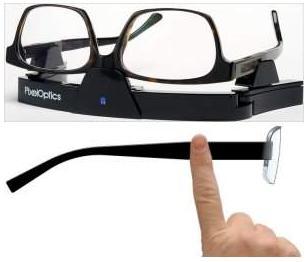 A Tecnologia nos Óculos - Lentes de Cristal Liquido