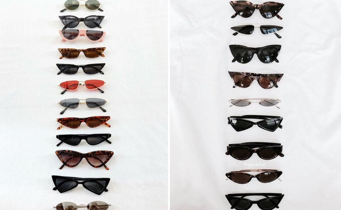 óculos pequenos