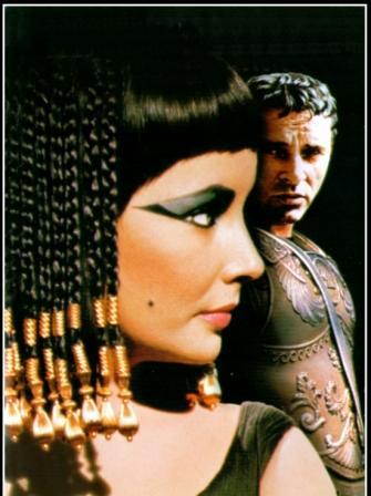 cleopatra maquiagem olhos