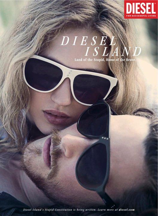 Nova coleção de óculos da Diesel, agora distribuida pela Marcollin.