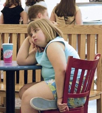 Crianças Obesas podem estar propensas a ter glaucoma.