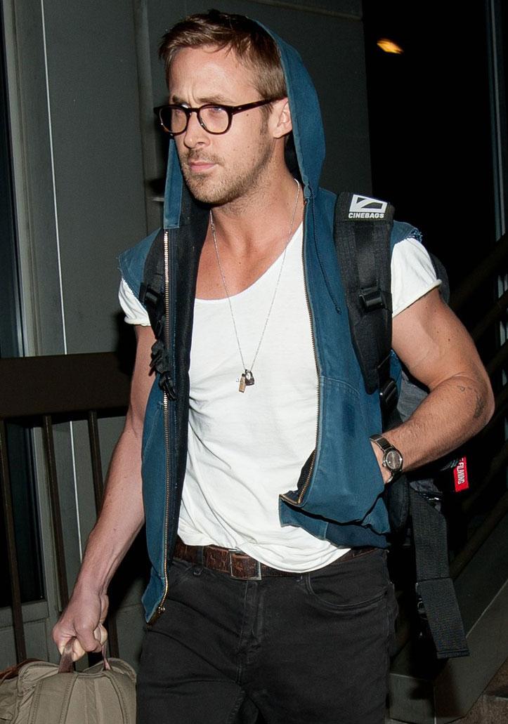 Ryan Gosling òculos Geek
