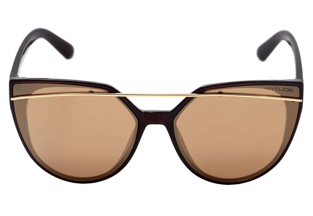 75cbf95bb0a2b O óculos de sol Atitude AT 5356 é super elegante e despojado! Seus traços  trazem toda a delicadeza e sofisticação para realçar o seu olhar e dar um  up no ...