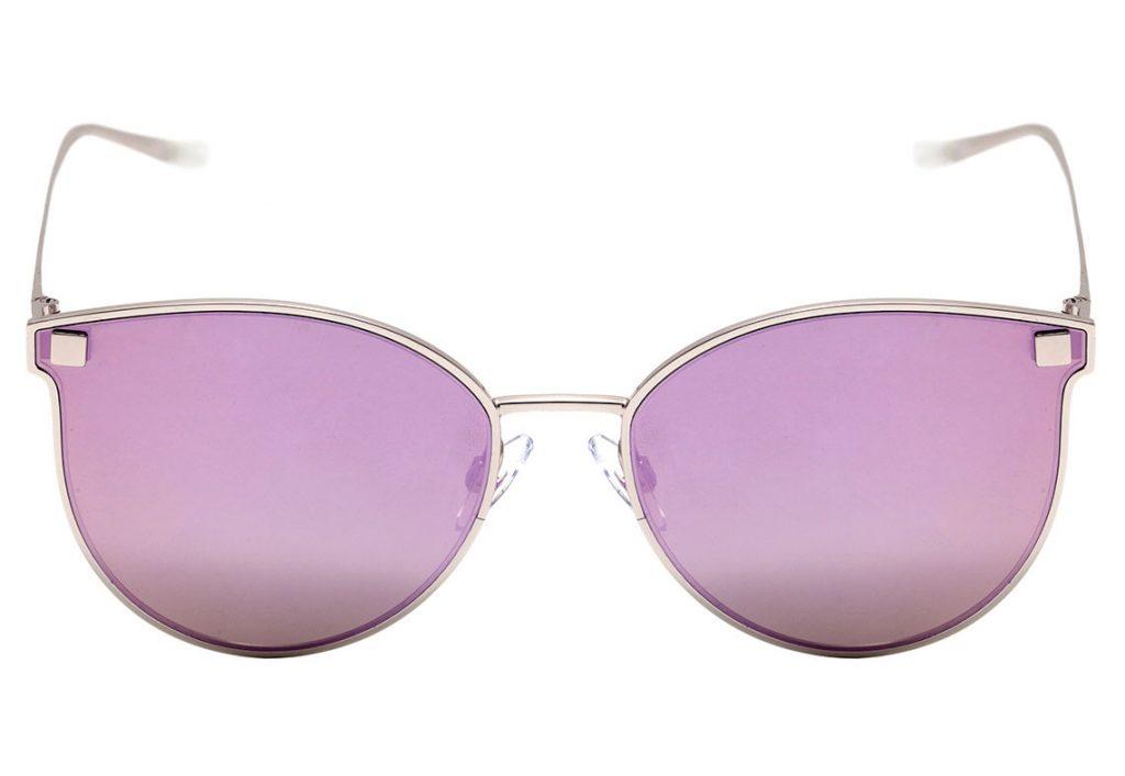 """610b9a63df272 ... o óculos de sol Hickmann HI 3032 traz a tendência do estilo """"cat eye""""  futurista. Seu design delicado deixa o visual ainda mais elegante"""