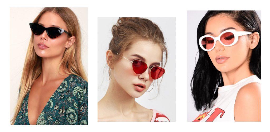 cores de óculos Verão 2019