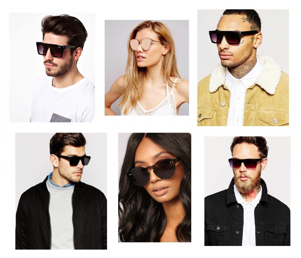 óculos flat