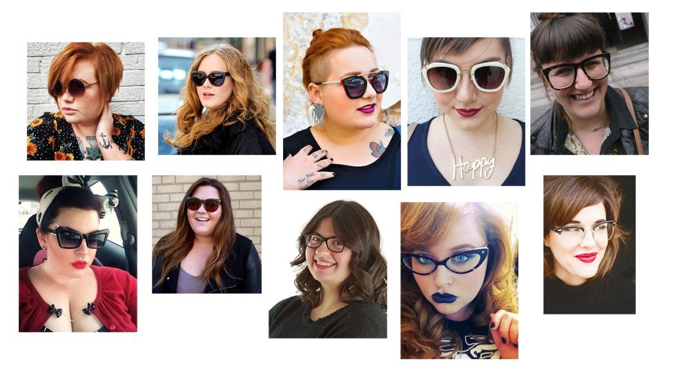 óculos para gordinhas