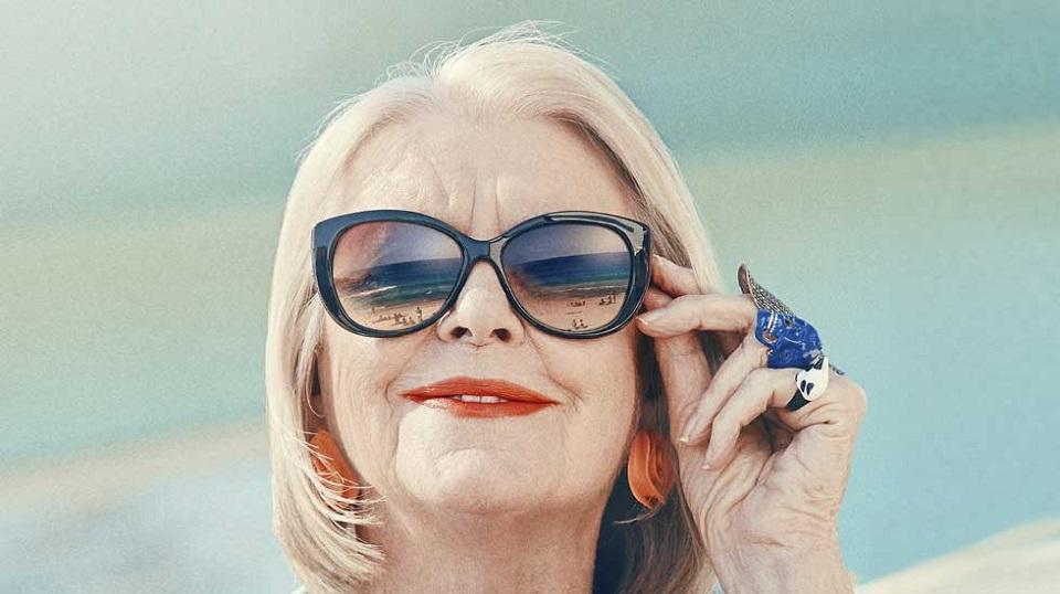 óculos para mulheres mais velhas